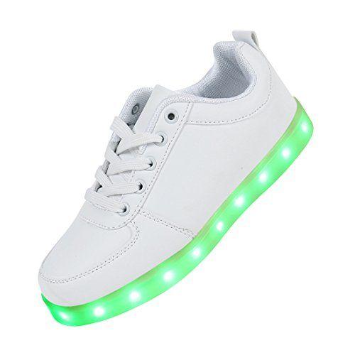 best loved a706d c64b0 Angin-Tech® 7 Farbe USB Aufladen LED Leuchtend Sport Schuhe ...