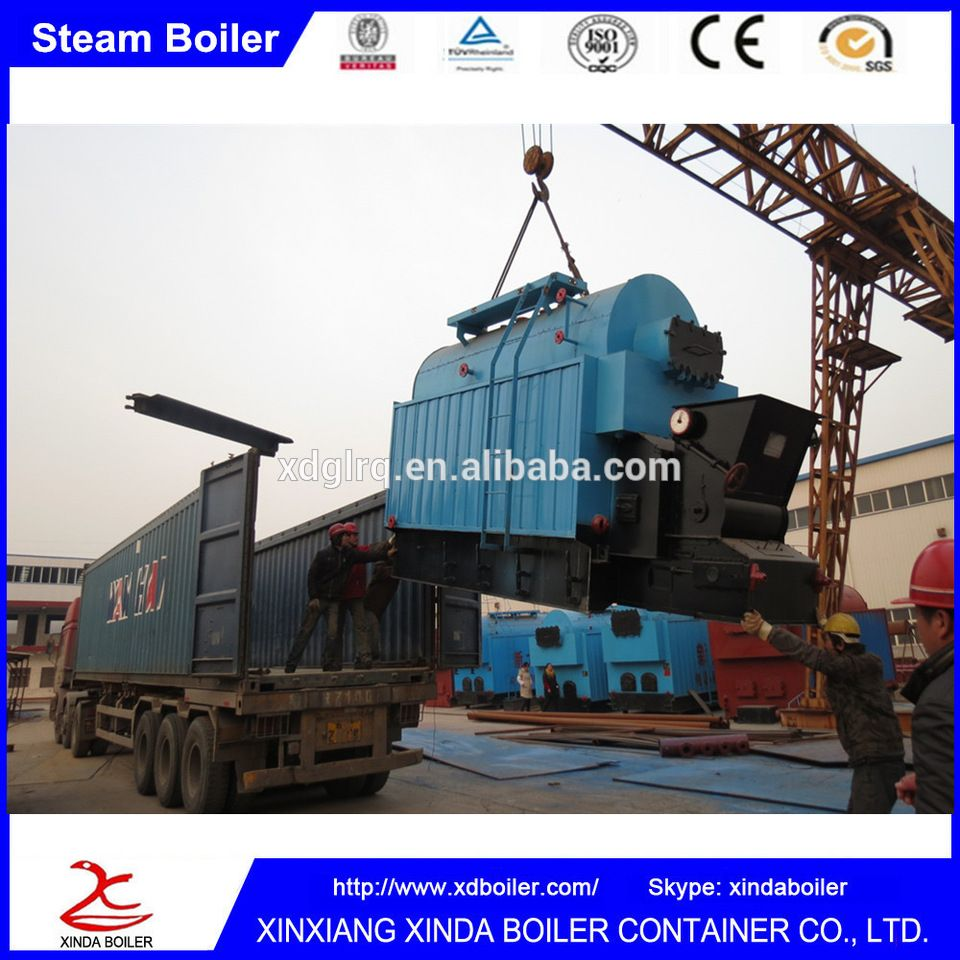 6000 kg / Hour, 6 Ton Rice Husk fired Steam Boiler made in China ...