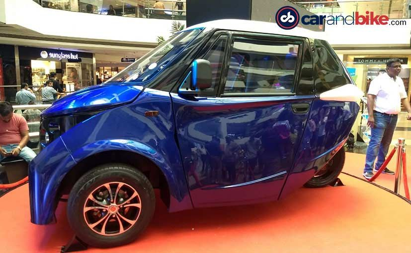 Strom R3 Electric Car for Urban Cities Unveiled in India