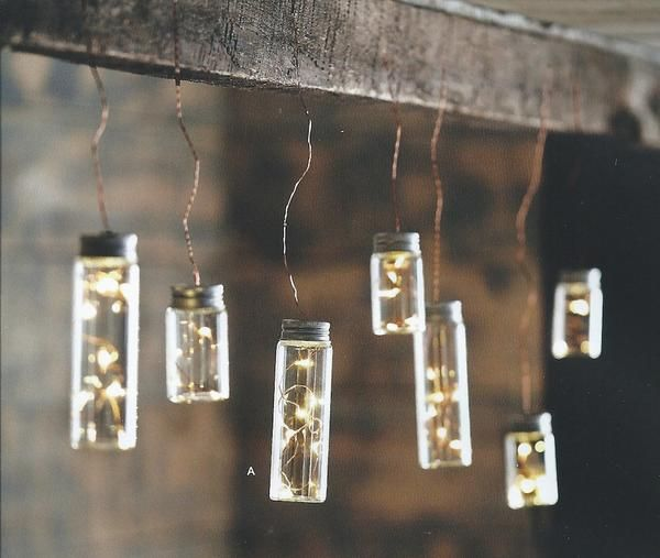 Roost Firefly Bottle Lights Warm LED lights sparkle like magical