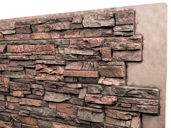 Faux Panels That Replicate The Look Of Real Stacked Stone With Quiet Earth Tones To Make Any Home Feel Grounded An Stacked Stone Faux Stone Panels Stone Siding