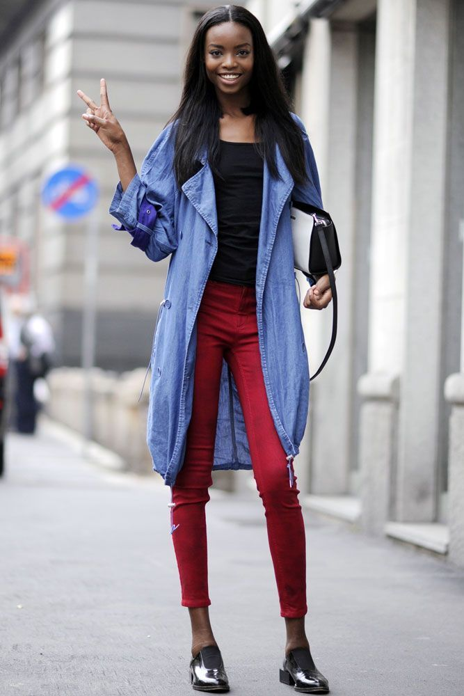 Maria Borges - Models off duty: Runway stars' street style | Stylist Magazine