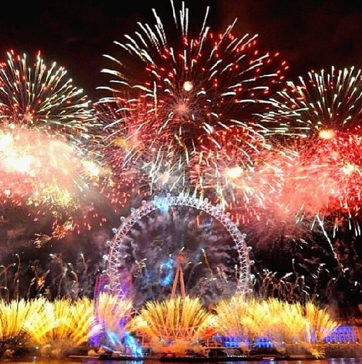 London Navidad en londres, Fuegos artificiales