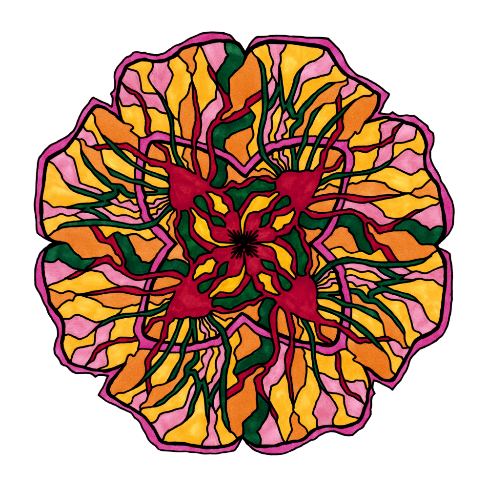 Printable Mandala Colouring Pages of Your Choice. Nature Inspired ...