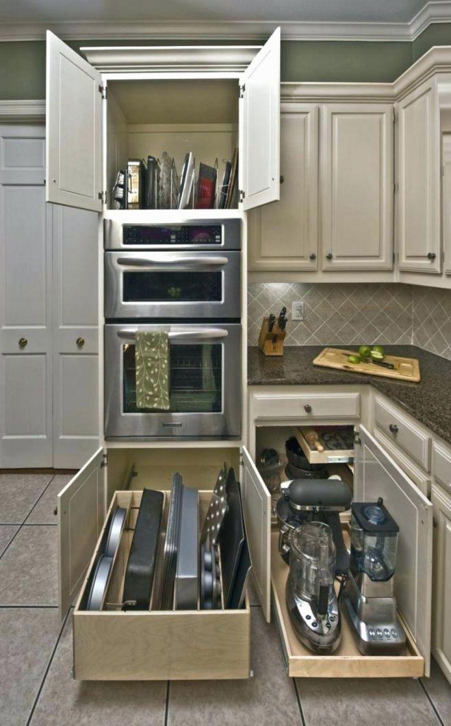 5 Original Creative Hidden Kitchen Storage Solutions With Images