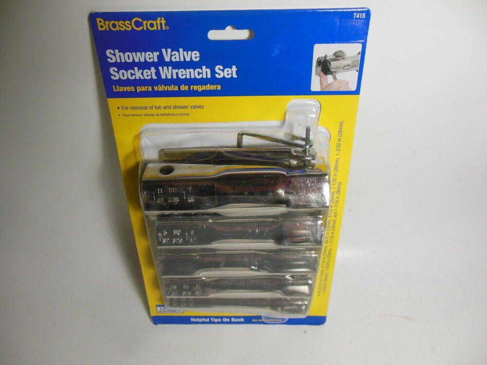 Sponsored Ebay Brasscraft Shower Valve Socket Wrench Set T415 Brass Craft 10 Sizes Wrench Set Shower Valve Socket Wrench Set