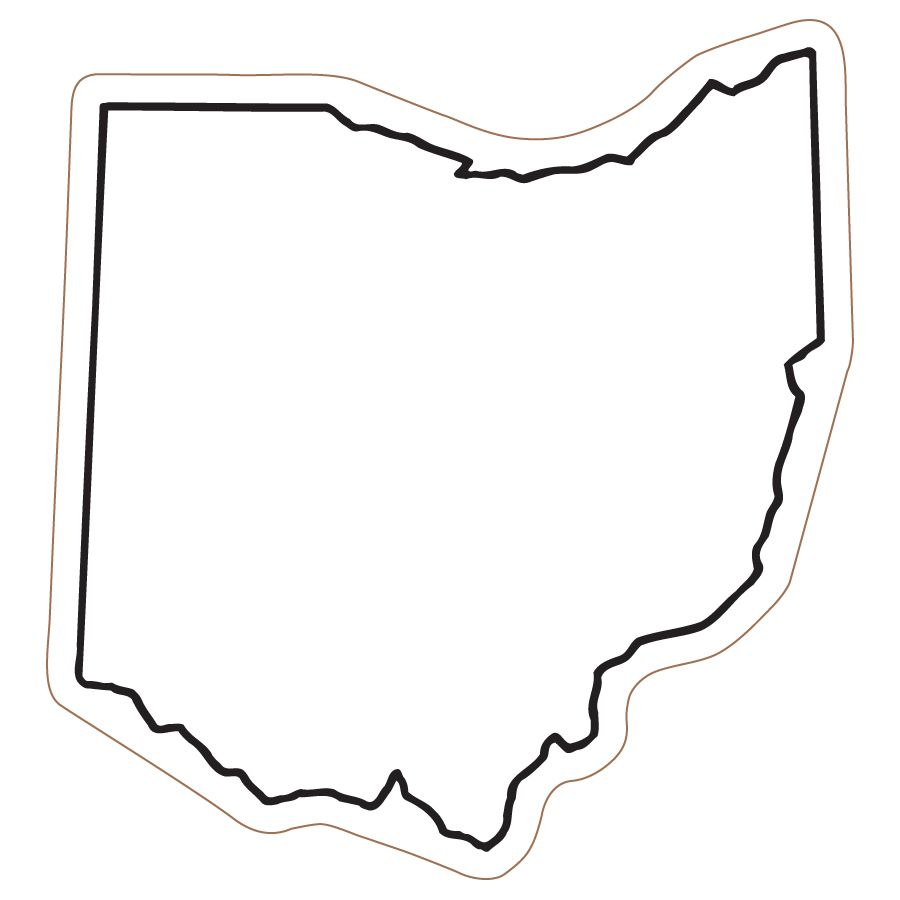 Outline Map Of Ohio.Ohio Outline D I Y Ohio Ohio Outline String Art