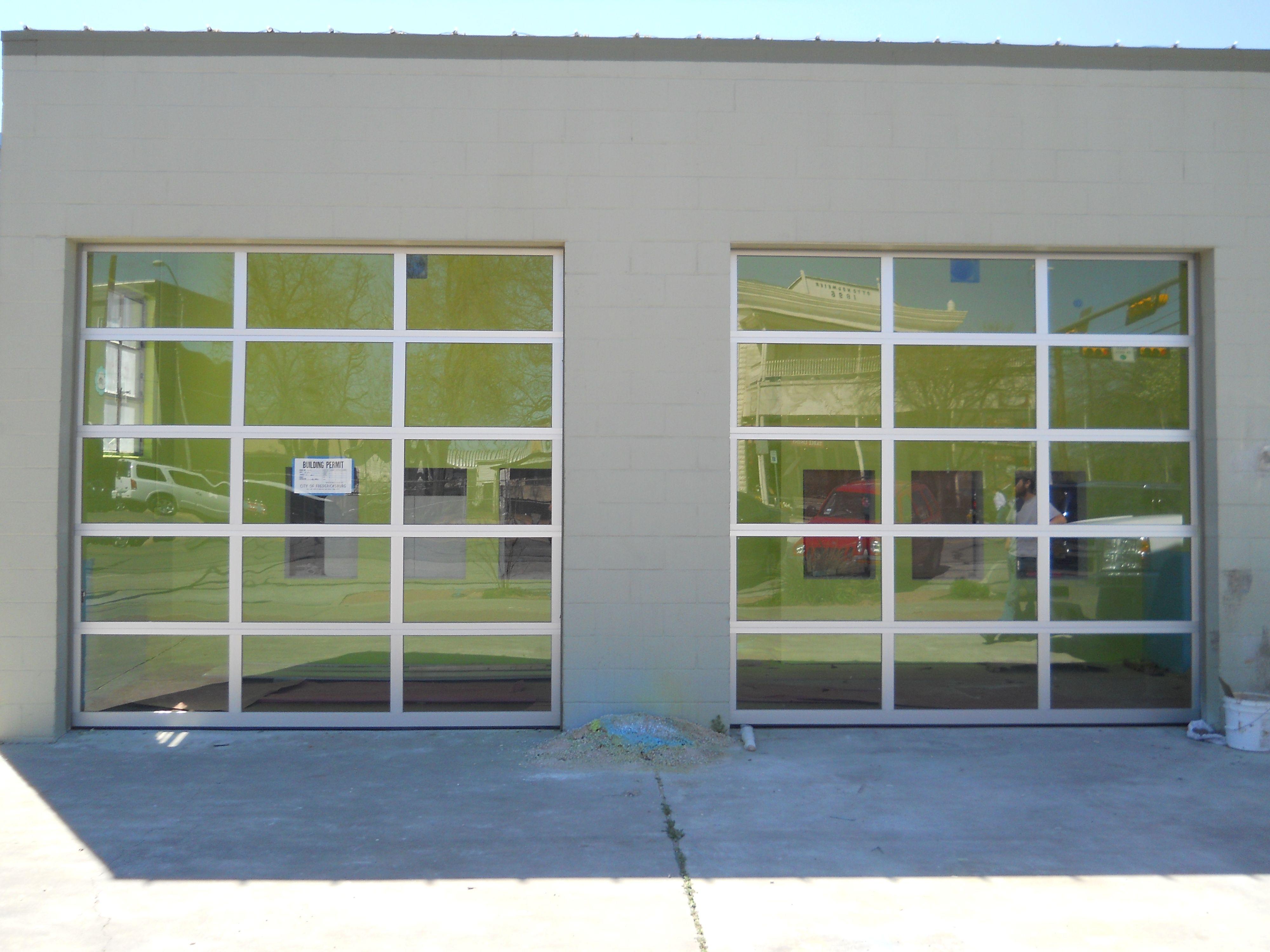Commercial Storefront Doors Near Kerrville Tx Garage