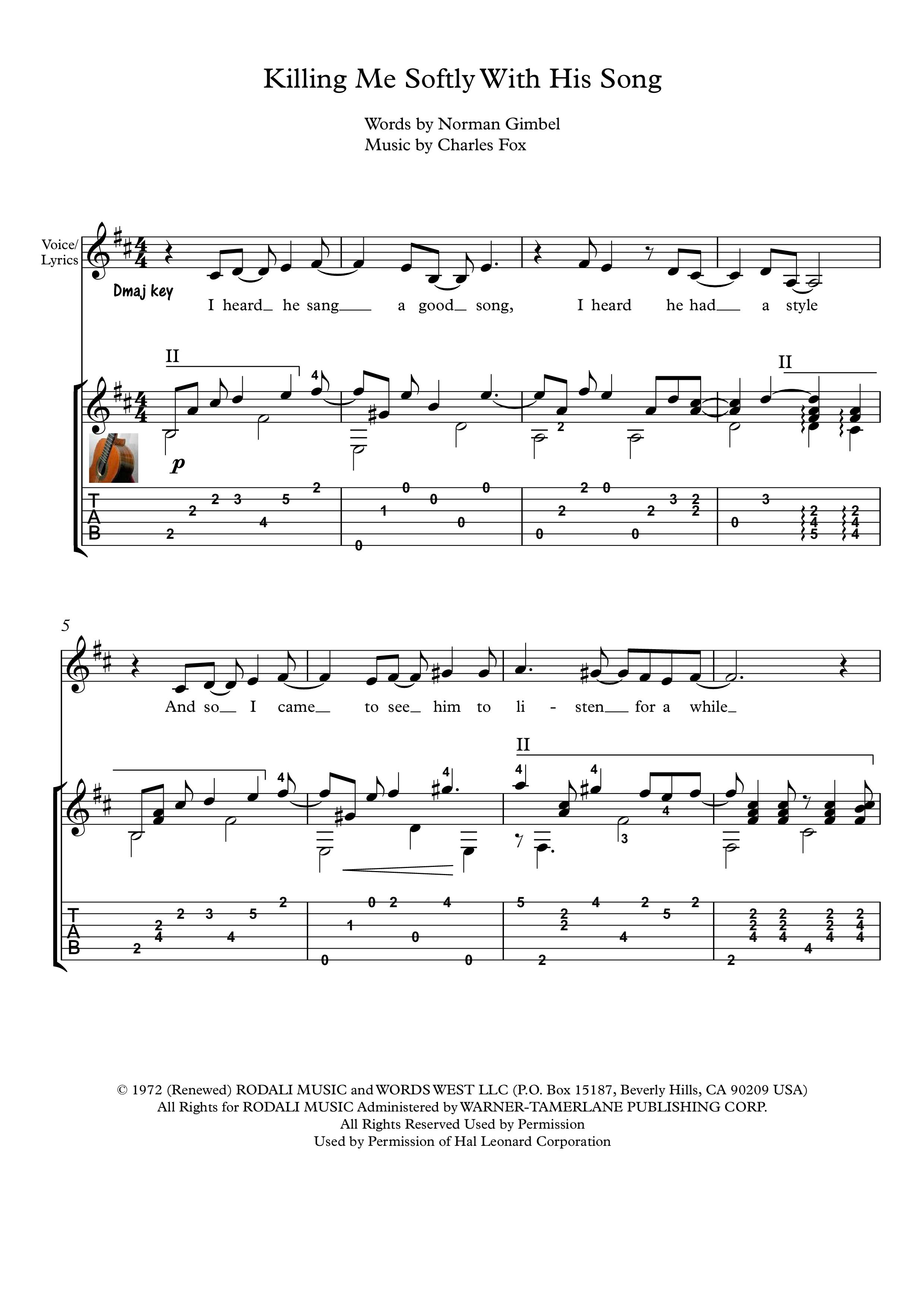 Pin On Guitar Pop Arrangements Sheet Music