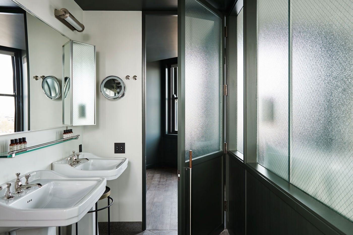 Hoods in the bathroom and toilet