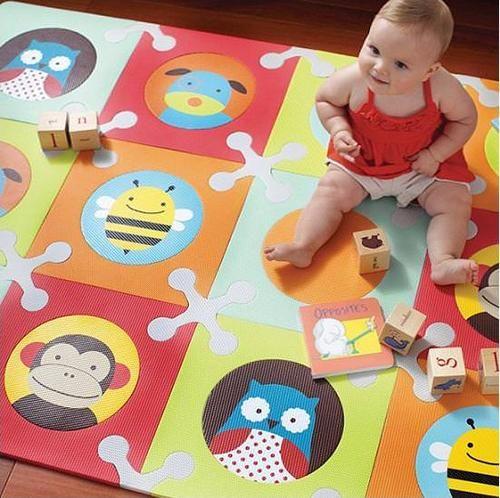 Alfombra de juegos playspot zoo de skip hop - Alfombras puzzle infantiles ...