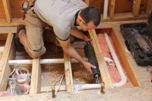 Reinforcing Floor Joists | Home Improvement | Flooring ...
