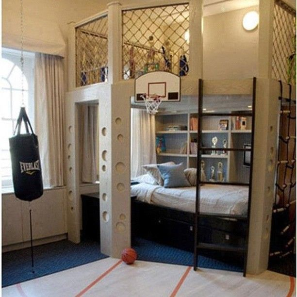 Bedroom for an Awesome boy! :D | Bedroom idea | Pinterest | Deporte