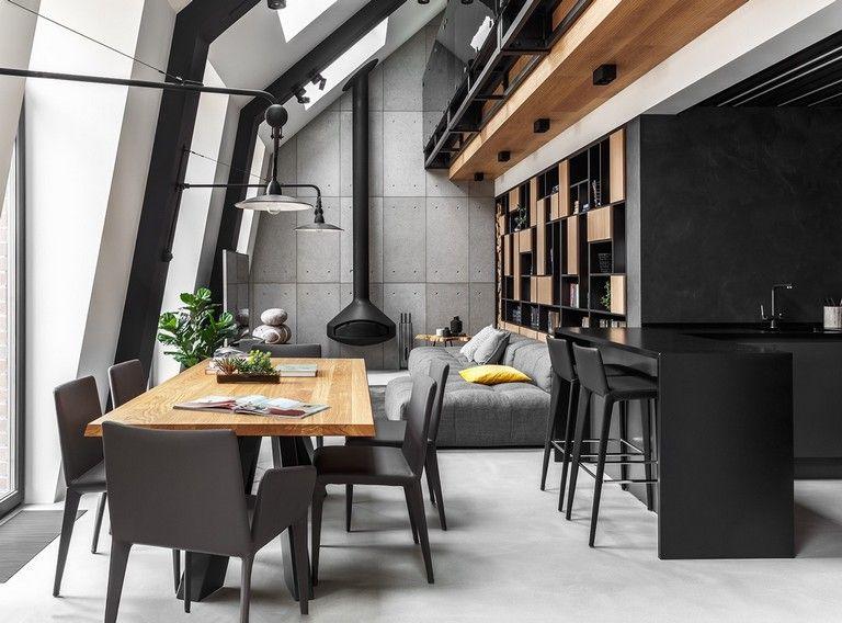 A Scandinavian Attic Apartment With Plenty Of Natural Light The Nordroom In 2020 Attic Living Rooms Minimalism Interior Cozy House