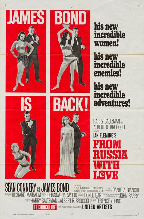 From Russia With Love One Of The Most Thrilling And Action Packed