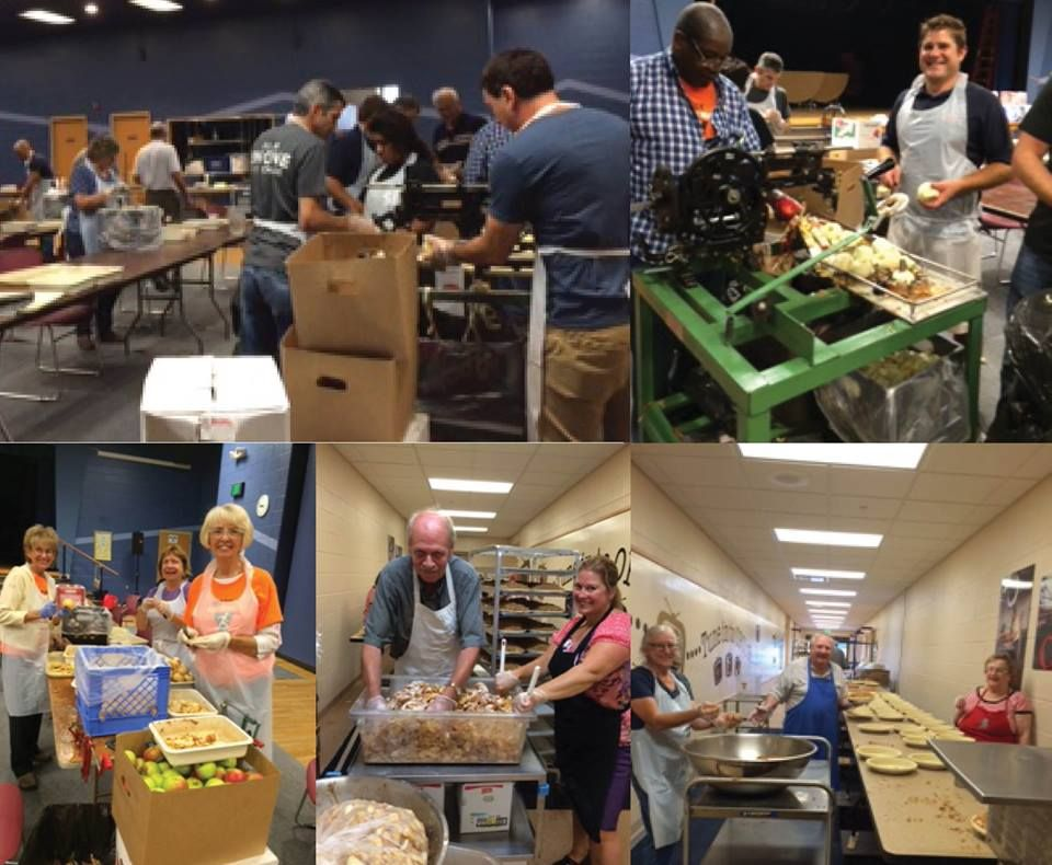 2015 Apple Pie Fundraiser for Meals on Wheels!