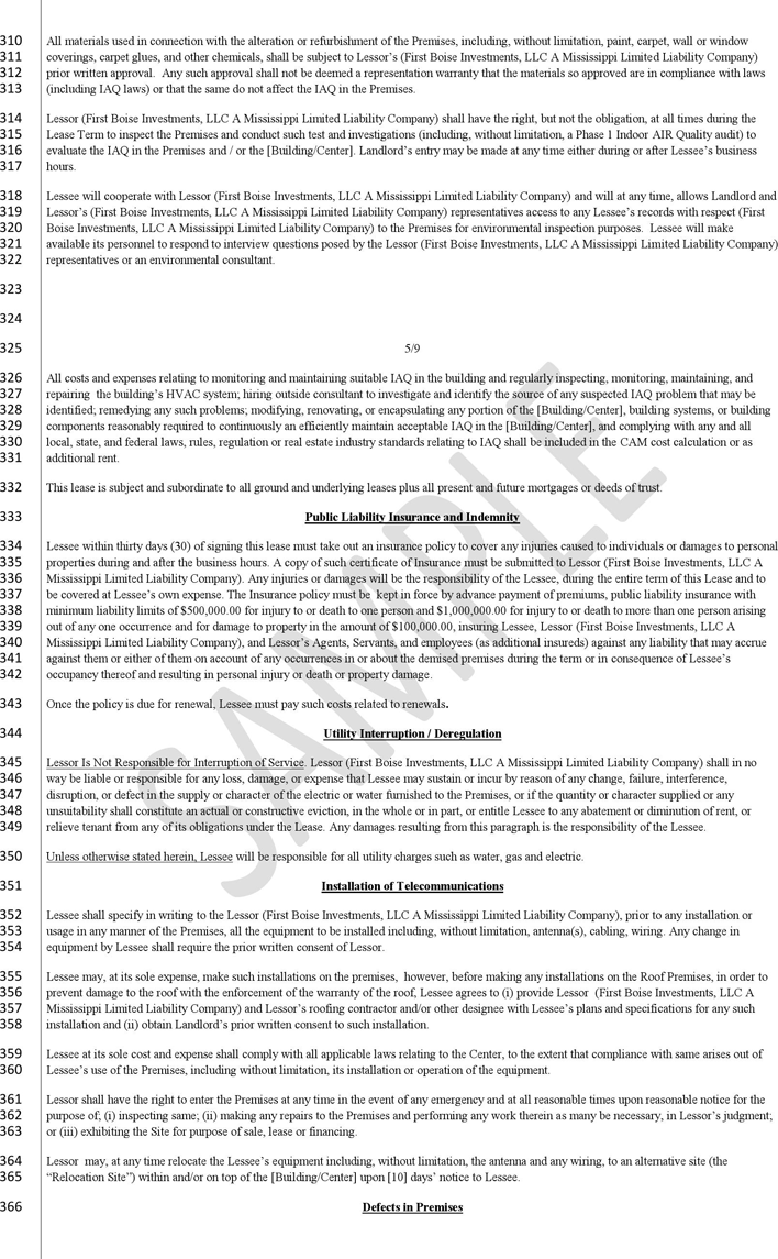 Mississippi Commercial Triple Net Lease Sample Download Free Printable Legal Rent And Lease Template Form In Different Ed Legal Contracts Templates Legal Forms