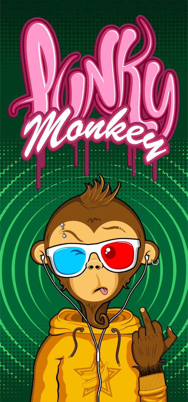 Punky Monkey on Behance