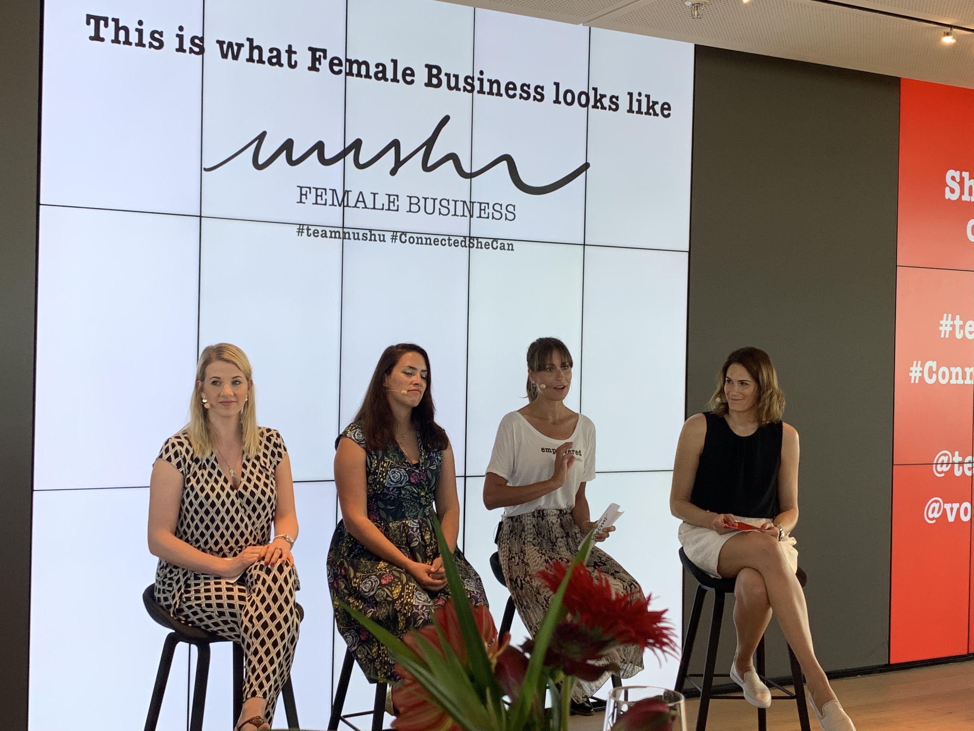 Geschäftsfrauen kennenlernen
