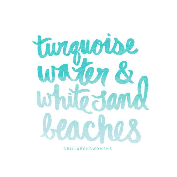 Bedroom Blues Meaning: Turquoise Water & White Sand Beaches #aBikiniKindaLife