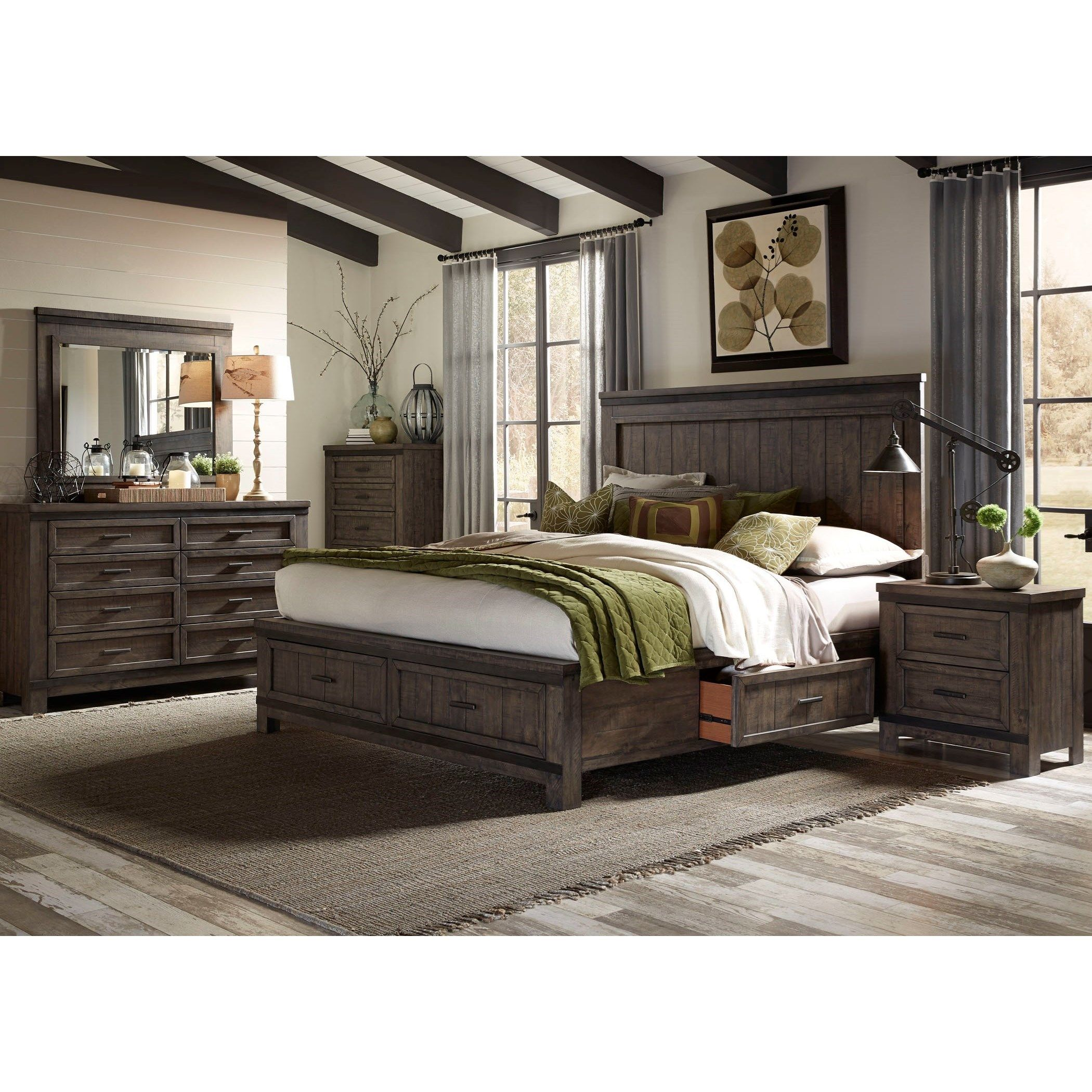 Thornwood Hills Queen Bedroom Group by Liberty Furniture