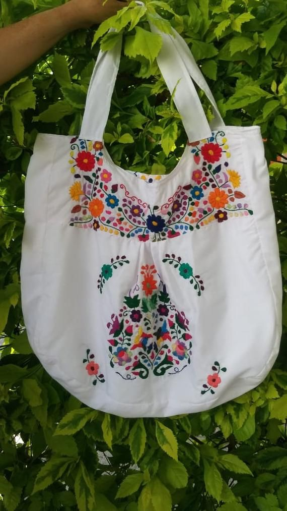 Mexican Handbag Flower Bag