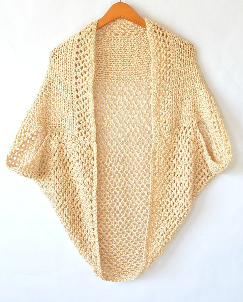 Mod Mesh Honey Blanket Sweater | Crochet Inspirations - Ponchos and ...