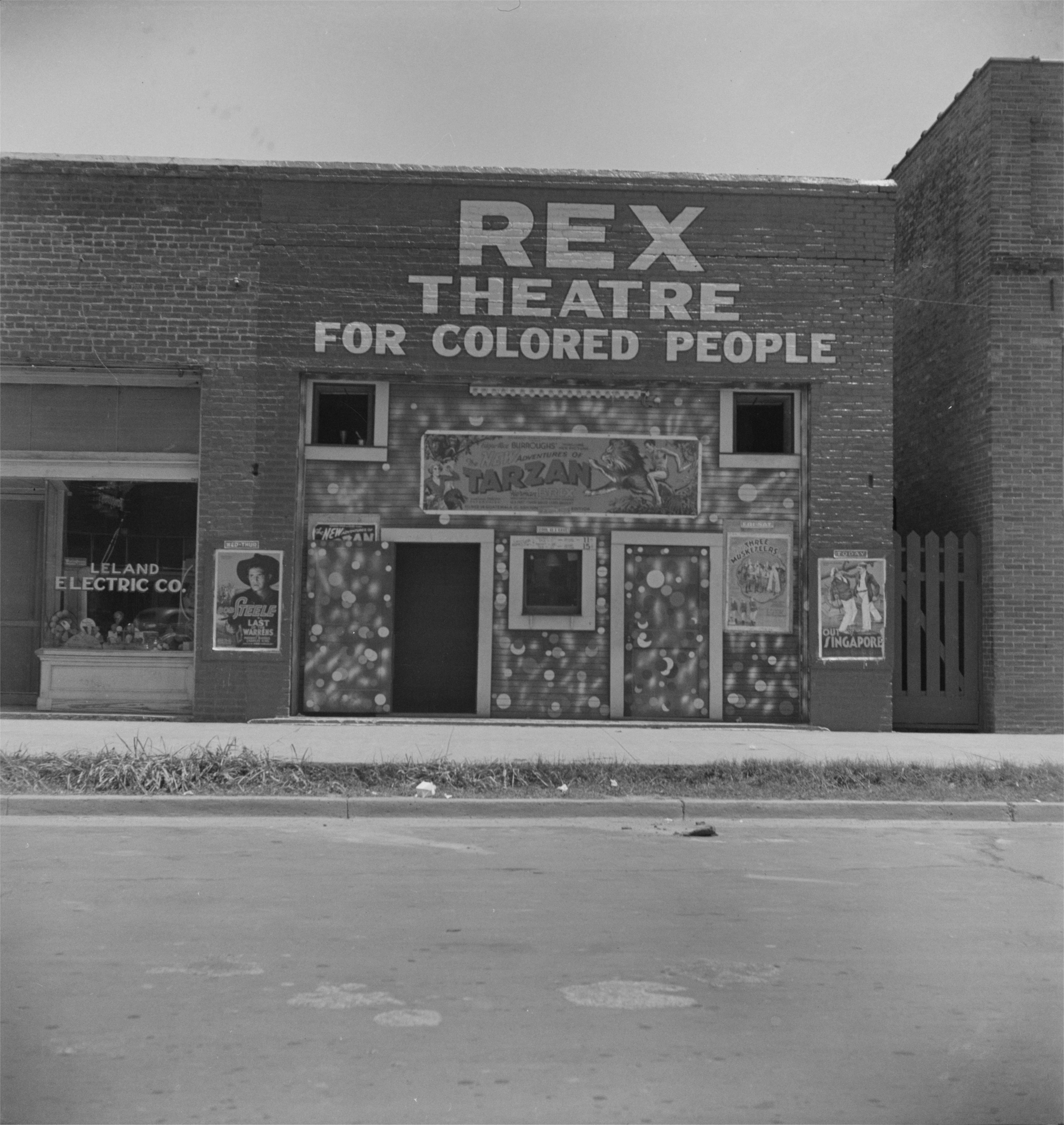 Segregation - Rex Theatre for Colored People