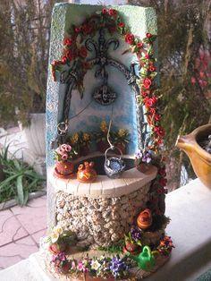 pozos de agua decoración - Buscar con Google