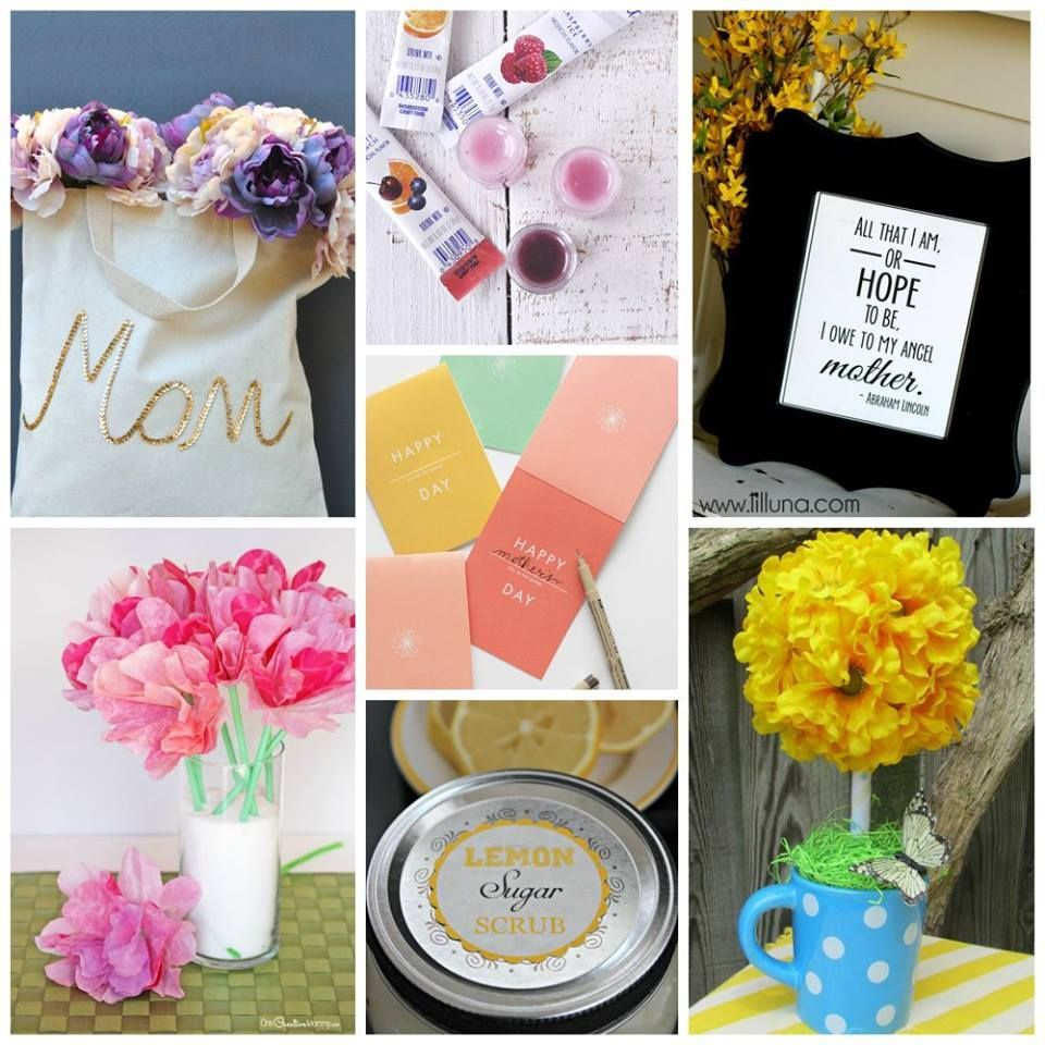 Cute Diy Mothers Day Gift Ideas