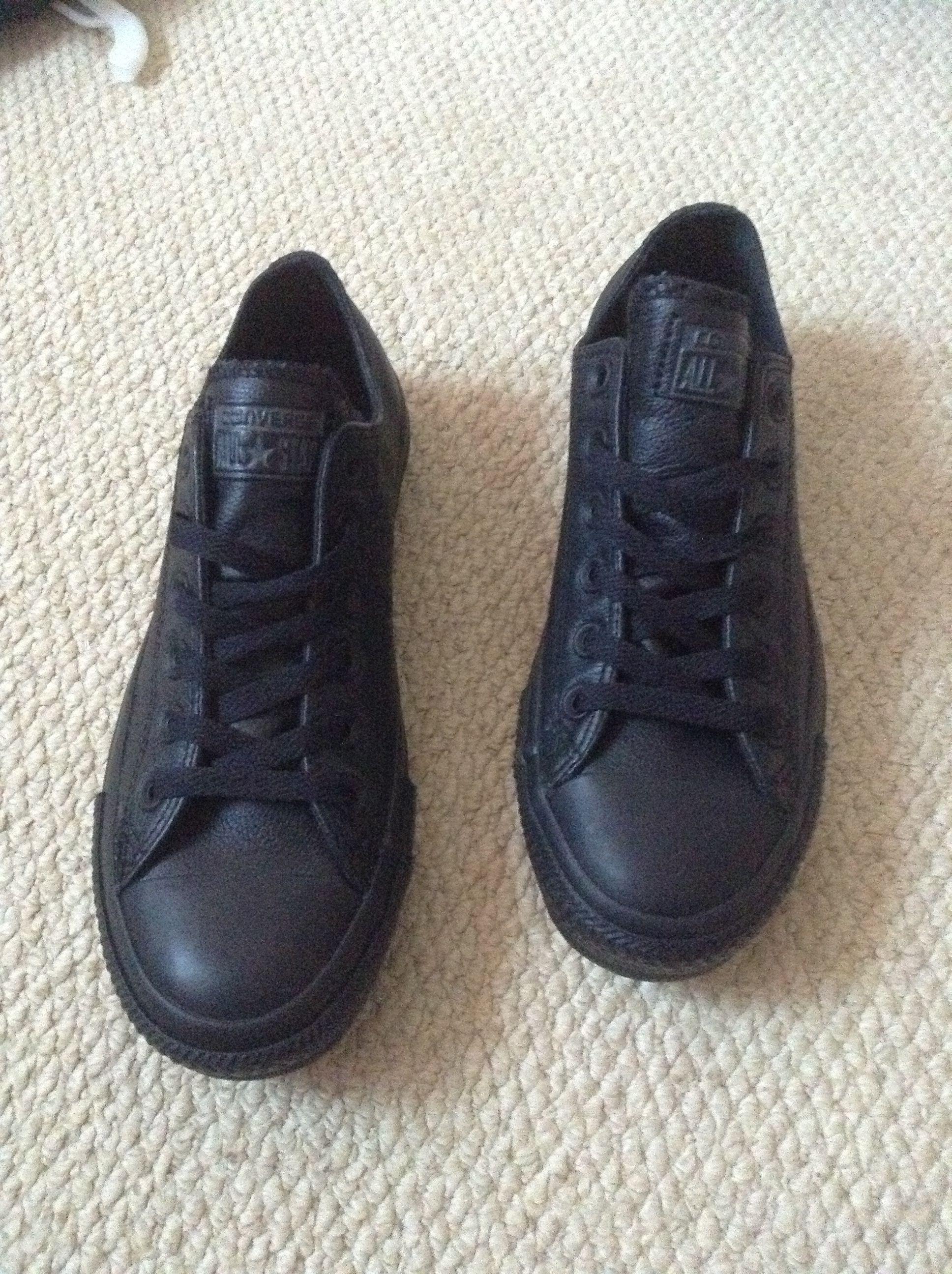 black converse school shoes \u003e Clearance
