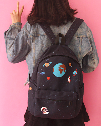 e2972343e5 Kawaii Outer Space Backpack