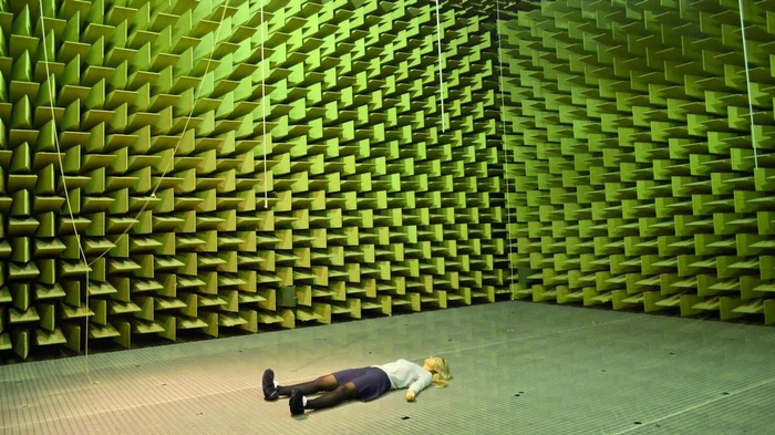 Inside a Room Built for Total Silence Soundproof room