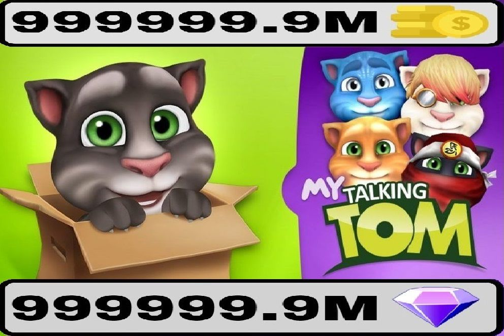 Download My Talking Tom APK MOD Money, Unlimited Coins free