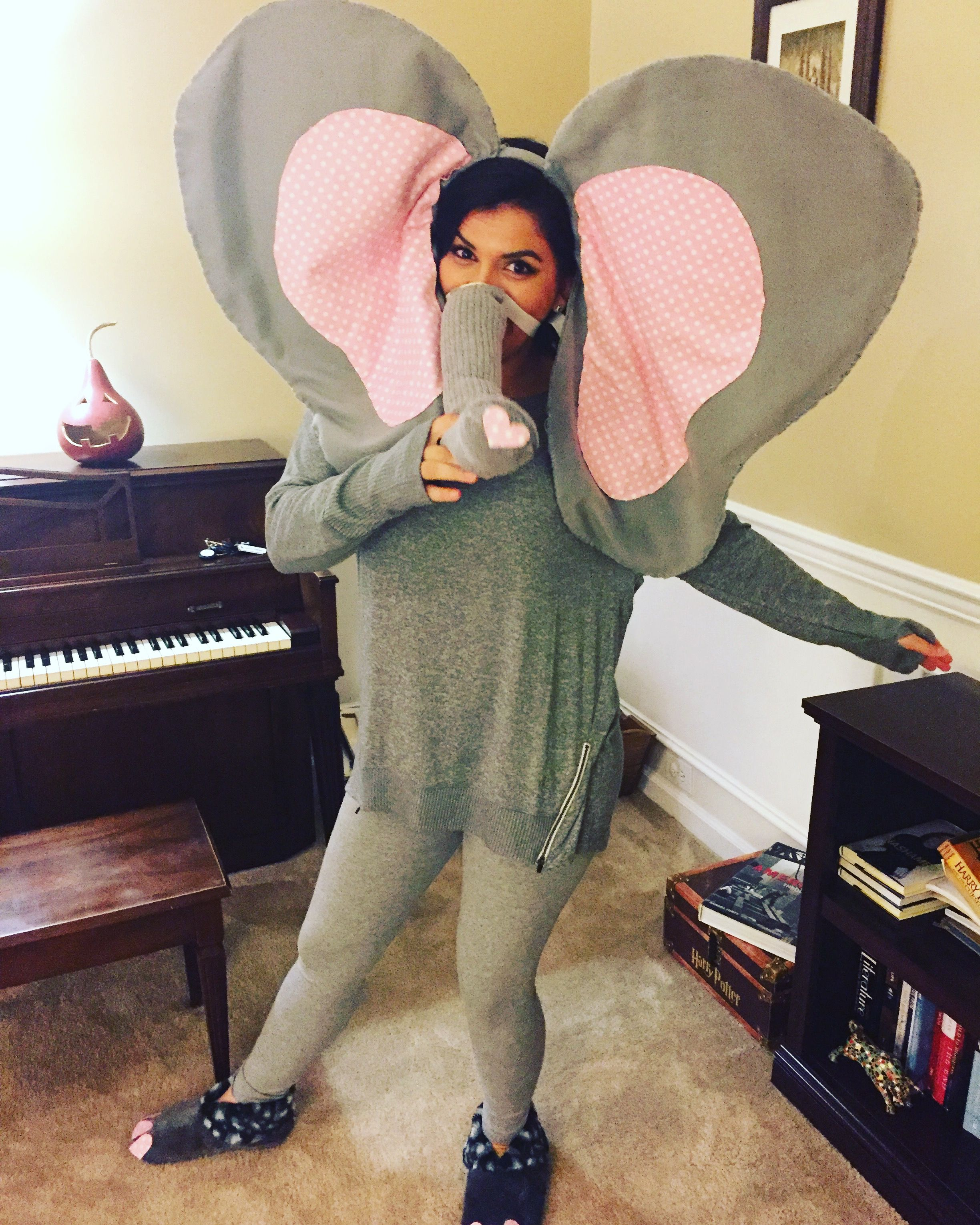 DIY Elephant Costume #diy #elephant #costume #elephantcostume #halloween #homemadecostume # & DIY Elephant Costume #diy #elephant #costume #elephantcostume ...