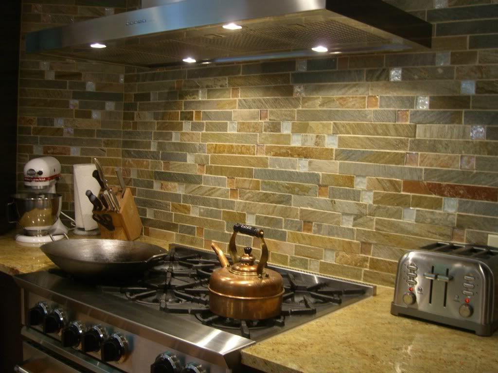backsplash - Fire & Ice by Jeffrey Court | Kitchen Ideas ...