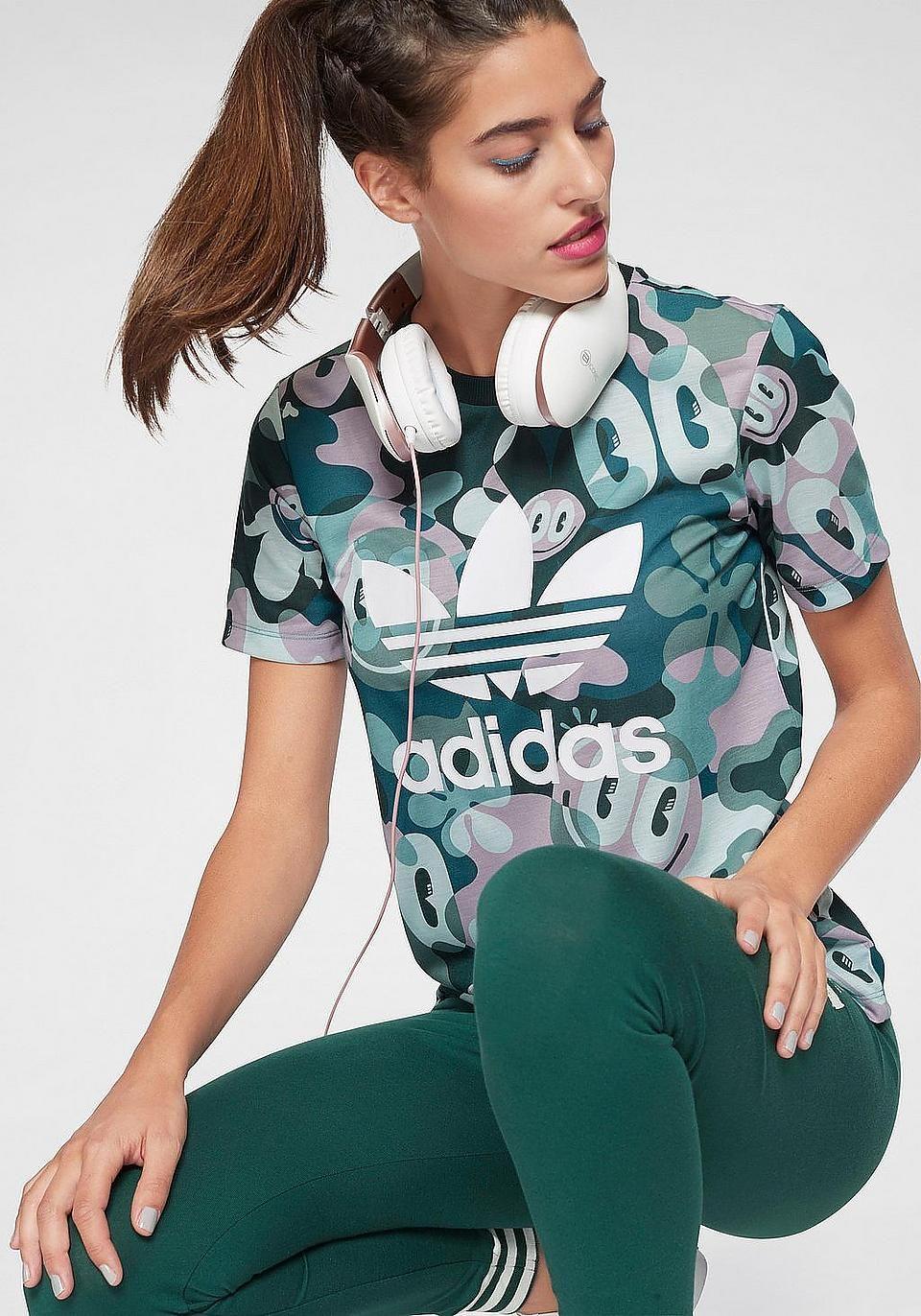 adidas Originals T Shirt »TREFOIL TEE« auf