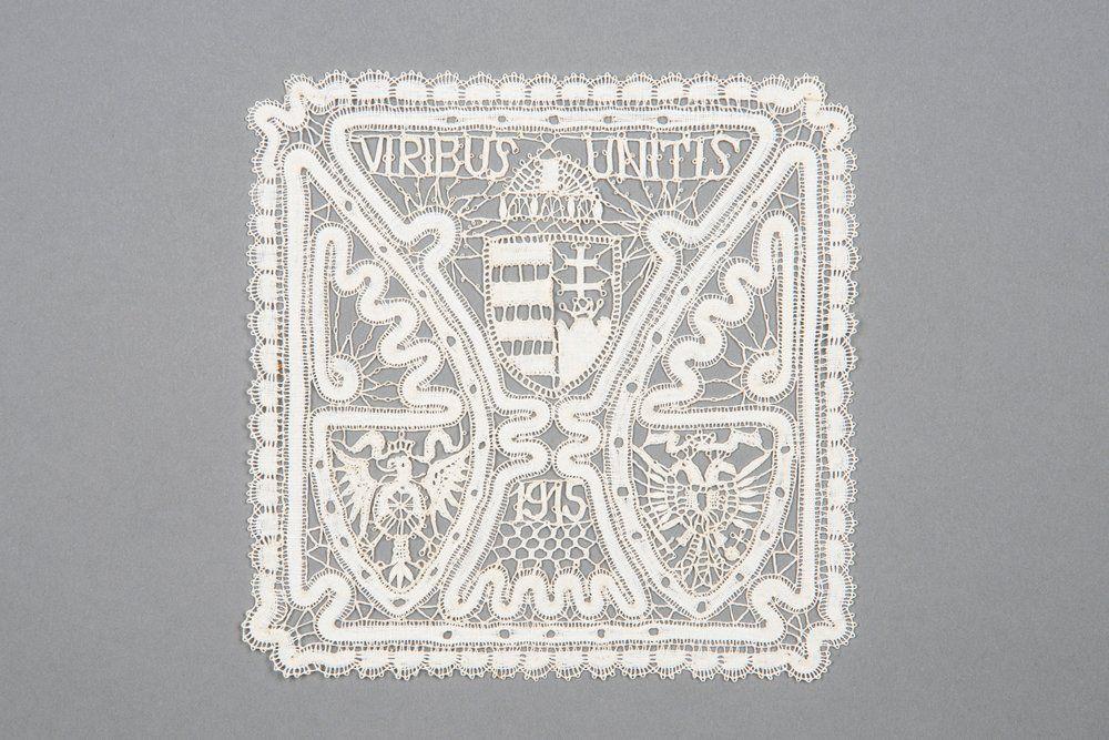 Quadratische Spitze   Rucsinszki, Anna 1915
