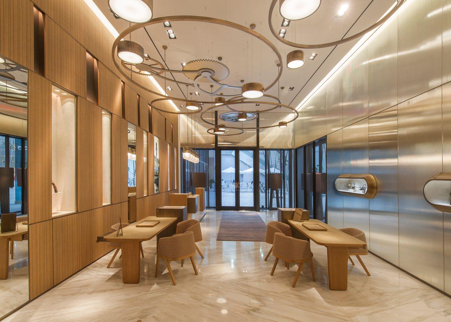 Patricia Urquiolas Miami Panerai Shop Was Inspired By Watches Retail Store DesignRetail StoresTop Interior DesignersRetail