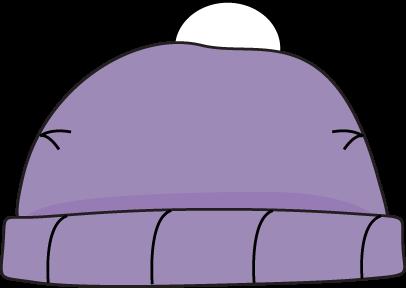 Purple Winter Hat Winter Hats Clip Art Hat Clips