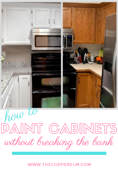 Painting Cabinets Without Breaking The Bank Painting Cabinets Kitchen Cabinets Best Paint For Kitchen