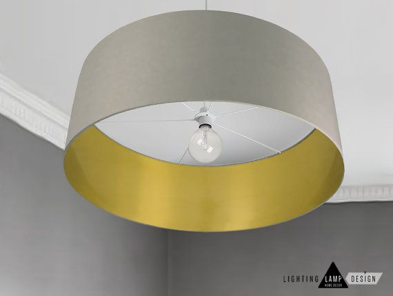 Contemporary Lighting Large Oversized Lamp Shade Golden Interior Drum Pendant Ceiling Lampshades Ponz Home Design Modern Lamp Shades Hanging Lamp Shade Antique Lamp Shades