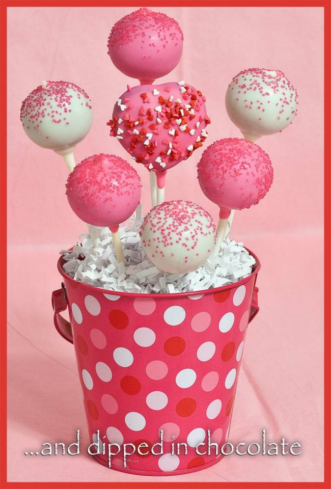 Valentine S Cake Pop Bouquet Valentine Cake Pop Cake Pop