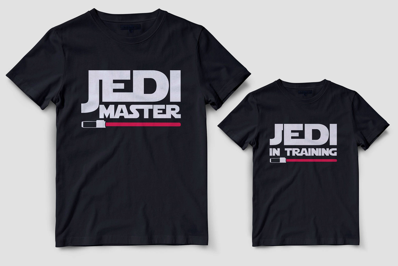 Jedi mom Daddy son star wars shirts Jedi master Matching daddy and son Jedi baby shirt Father son jedi master Disney family shirts