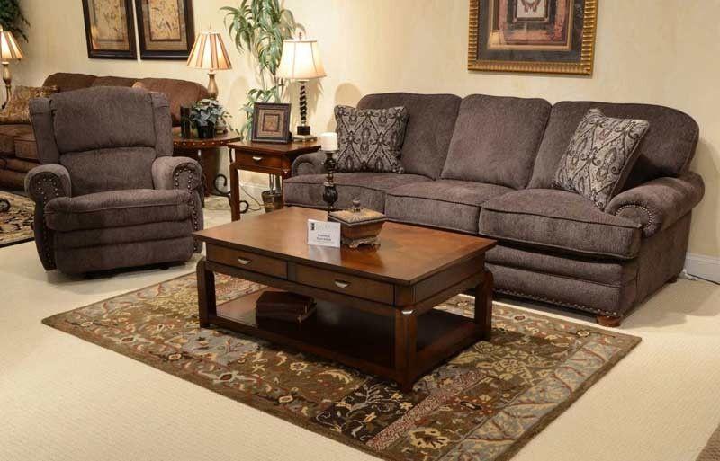 Jackson Furniture Braddock 2 Piece Queen Sleeper Sofa Set in