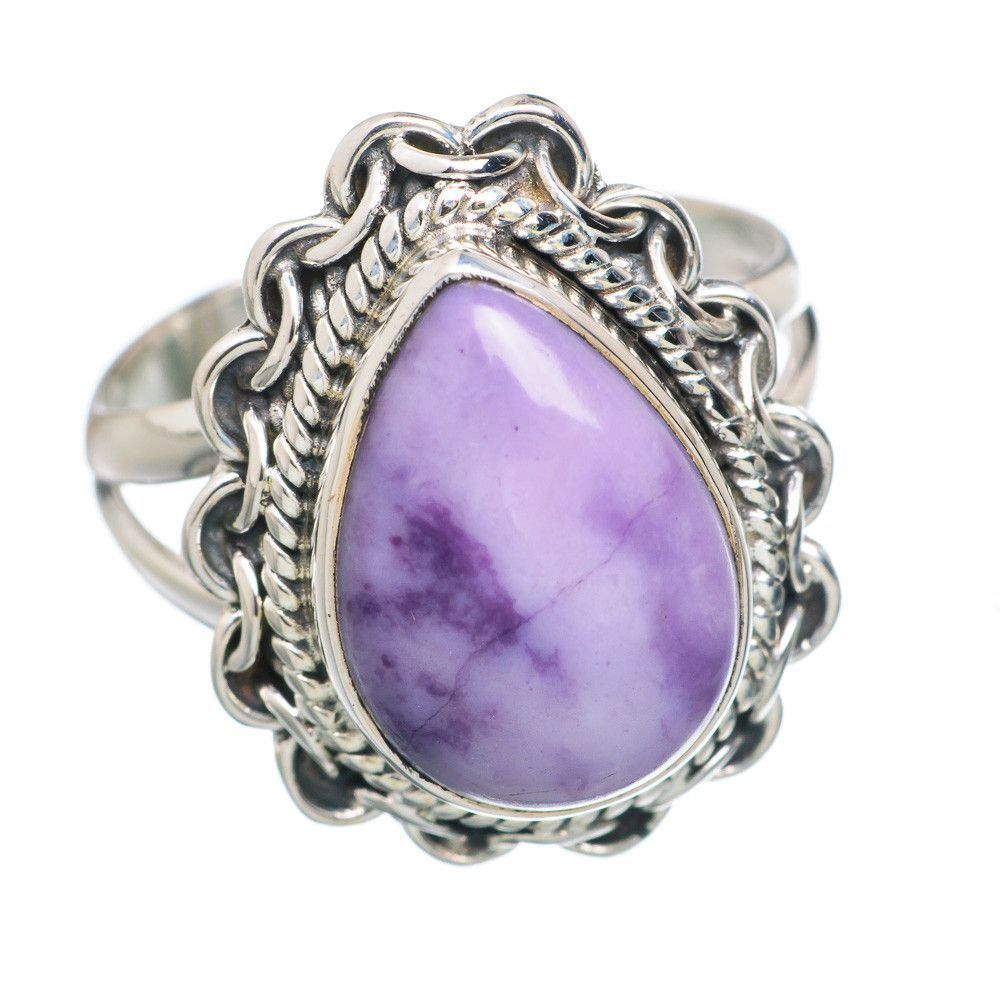 Morado Opal 925 Sterling Silver Ring Size 7.25 RING759050