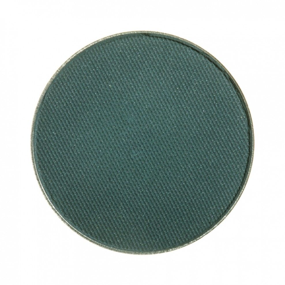 $6 - Makeup Geek Eyeshadow Pan - Time Travel - Time Travel is a deep teal with gray undertones and a matte finish.