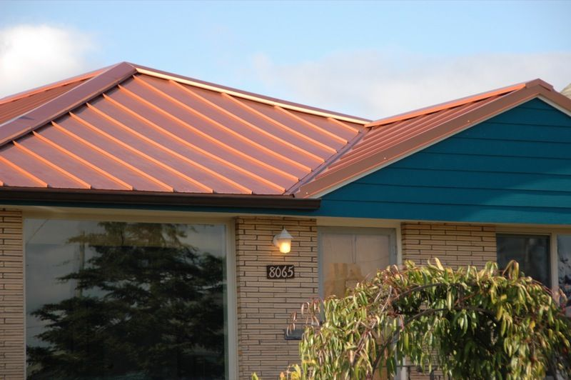 Best Copper Penny Metal Roof Color Copper Roofing Pinterest 640 x 480