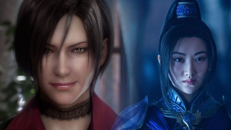 Resident Evil 2 Cast Remake Ada Wong Jing Tian The Great Wall