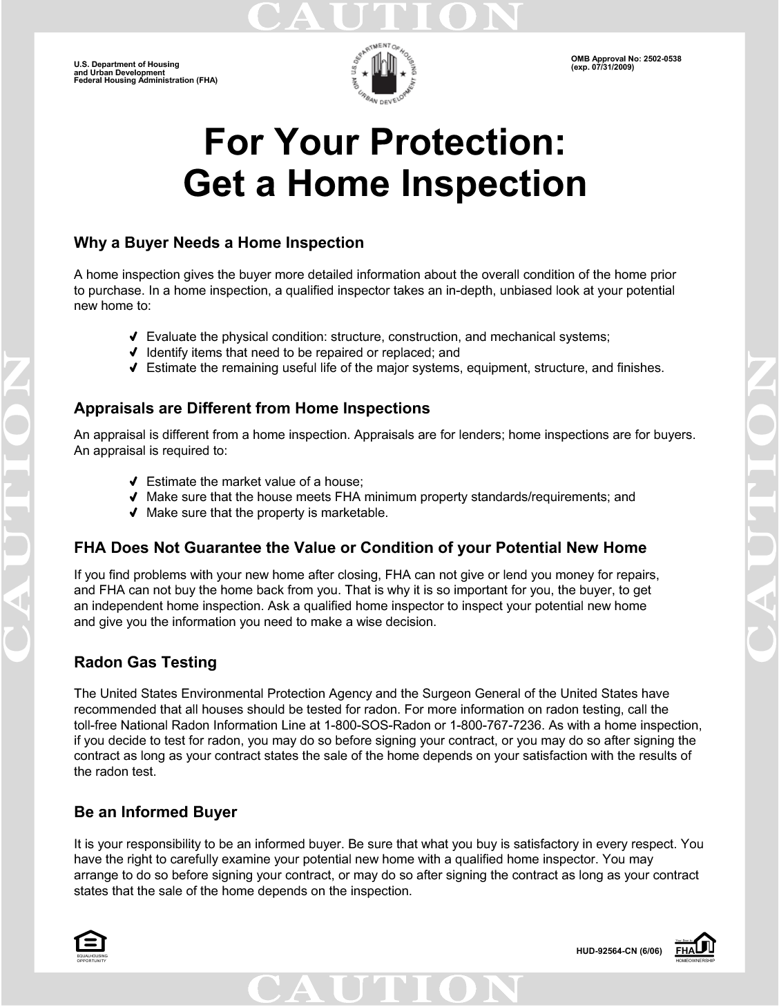 for your protection get a home inspection For Your Protection - Get a #HomeInspection | Home Buying ...